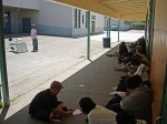 Nice day to teach outside